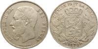 5 Franc 1870 Belgien-Königreich Leopold II 1865-1909. Sehr schön  25,00 EUR  +  5,00 EUR shipping
