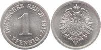 1 Pfennig 1917  F Weimarer Republik  Vorzüglich-Stempelglanz  10,00 EUR  +  5,00 EUR shipping