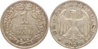 1 Reichsmark 1925  A Weimarer Republik  Sehr schön  8,00 EUR  +  5,00 EUR shipping