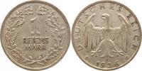 1 Reichsmark 1926  A Weimarer Republik  Sehr schön  10,00 EUR  +  5,00 EUR shipping