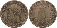 50 Öre 1 1898 Norwegen Oskar II. 1872-1905. Fast sehr schön  50,00 EUR  +  5,00 EUR shipping