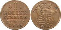 1 Heller 1773 Hanau-Münzenberg Wilhelm IX. von Hessen-Kassel 1760-1785-... 15,00 EUR  +  5,00 EUR shipping