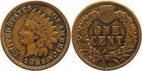 Cu 1 Cent 1883 Vereinigte Staaten von Amerika  Gutes sehr schön  5,00 EUR  +  5,00 EUR shipping