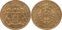 10 Mark Gold 1879  J Hamburg  sehr schön  265,00 EUR  +  5,00 EUR shipping