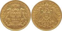 10 Mark Gold 1890  J Hamburg  gutes sehr schön  245,00 EUR  +  5,00 EUR shipping