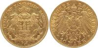 10 Mark Gold 1898  J Hamburg  sehr schön-vorzüglich  240,00 EUR  +  5,00 EUR shipping