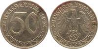 50 Pfennig 1938  J Drittes Reich  Belag, sehr schön-vorzüglich  85,00 EUR  +  5,00 EUR shipping