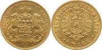 10 Mark Gold 1877  J Hamburg  sehr schön+  275,00 EUR  +  5,00 EUR shipping
