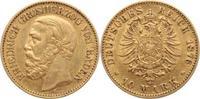 10 Mark Gold 1876  G Baden Friedrich I. 1856-1907. winz. Kratzer, sehr ... 245,00 EUR  +  5,00 EUR shipping