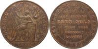 2 Sols 1792 Frankreich Constitution 1791-1792. Schöne Patina, Randfehle... 30,00 EUR  +  5,00 EUR shipping