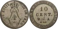 10 Centimes 1818  A Frankreich-Französische Kolonien  Sehr schön  35,00 EUR  +  5,00 EUR shipping
