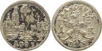 1 Kreuzer 1773  B Frankfurt-Stadt  Fleckig, sehr schön-vorzüglich  10,00 EUR  +  5,00 EUR shipping