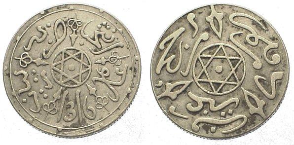 Top Erhaltung Libyen Lot Von 2 Münzen 100 20 Millim 1965