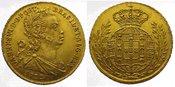 Portugal 2 Escudos  Gold 1822 Vorzüglich J...