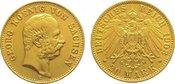 20 Mark Gold 1903  E Sachsen Georg 1902-1904. Sehr schön - vorzüglich