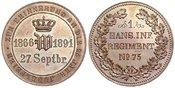 Bronzemedaille 1891 Brandenburg-Preußen Wi...