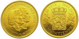 Niederlande-Königreich Goldmedaille  Gold ...