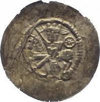Brakteat um 1235 Mühlhausen, königliche Mü...