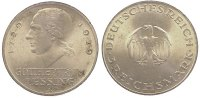 3 Mark 1929  A Weimarer Republik  Winz. Randfehler, fast Stempelglanz  70,00 EUR