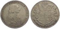 Taler 1783 Eichstätt, Bistum Johann Anton Freiherr von Zehmen 1781-1790... 465,00 EUR  +  10,00 EUR shipping