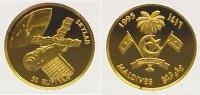 50 Rufiyaa Gold 1995 Malediven  Polierte Platte  64,00 EUR  +  10,00 EUR shipping