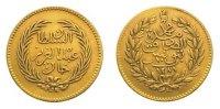 10 Piaster Gold AH 1281 (1864) Tunesien Abd al-'Aziz und Muhammad al Sa... 275,00 EUR  +  10,00 EUR shipping