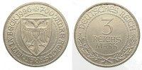 3 Mark 1926  A Weimarer Republik  Vorzüglich +  145,00 EUR