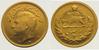 1/2 Pahlavi Gold 1959 Iran Mohammed Reza Pahlavi, Shah (SH 1320-1358) 1... 185,00 EUR  +  10,00 EUR shipping