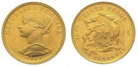 Chile 20 Pesos  Gold Republik seit 1818.
