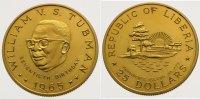25 Dollars Gold 1965 Liberia Republik seit 1847. Vorzüglich - Stempelgl... 1095,00 EUR  +  10,00 EUR shipping