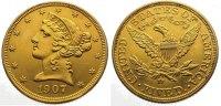 5 Dollars Gold 1907  D Vereinigte Staaten von Amerika  Sehr schön - vor... 375,00 EUR  +  10,00 EUR shipping