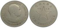 Ten Shillings 1958 Ghana Republik seit 1958. Stempelglanz  75,00 EUR  +  10,00 EUR shipping