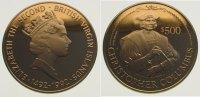 500 Dollars Gold  British Virgin Islands Elizabeth II. seit 1952. Polie... 575,00 EUR  +  10,00 EUR shipping
