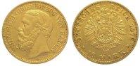 10 Mark Gold 1876  G Baden Friedrich I. 1856-1907. Sehr schön +  265,00 EUR