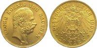 20 Mark Gold 1903  E Sachsen Georg 1902-1904. Vorzüglich  725,00 EUR
