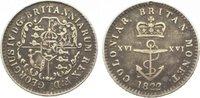 1/16 Dollar 1822 Guyana-British Guyana & Westindies George IV. 1820-183... 65,00 EUR  +  10,00 EUR shipping