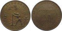 Cu Cent 1833 Liberia American Colonization Society 1822-1839. Winz. Ran... 165,00 EUR  plus 10,00 EUR verzending