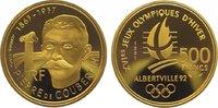 500 Francs Gold 1991 Frankreich Fünfte Republik seit 1959. Polierte Pla... 725,00 EUR  +  10,00 EUR shipping