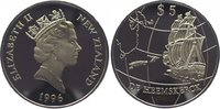 5 Dollars 1996 Neuseeland Elizabeth seit 1952. Polierte Platte  29,00 EUR  +  10,00 EUR shipping