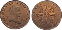Cu 2 Maravedis 1841 Spanien-Königreich Isabel II. 1833-1868. Prachtexem... 245,00 EUR  +  10,00 EUR shipping