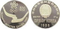500 Won 1988 Korea-Nord  Polierte Platte  29,00 EUR  +  10,00 EUR shipping