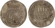 4 Pfennig 1702  RB Braunschweig-Calenberg-Hannover Georg Ludwig 1698-17... 125,00 EUR