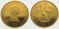 Bahamas 100 Dollars  Gold