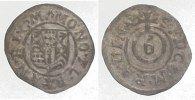 Körtling zu 6 Pfennig  Ravensberg, Grafschaft Friedrich Wilhelm von Bra... 75,00 EUR