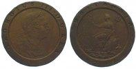 Cu Twopence (Cartwheel) 1797 Großbritannien George III. 1760-1820. Sehr... 55,00 EUR  +  10,00 EUR shipping