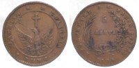 Cu 5 Lepta 1828 Griechenland Johannes Capodistrias 1828-1831. Sehr schön  225,00 EUR  +  10,00 EUR shipping