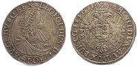 Taler 1671  NB Ungarn Leopold I. 1657-1705...
