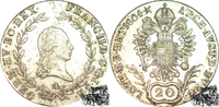 20 Kreuzer 1804 A  20 Kreuzer 1804 A f.stplfr.  60,00 EUR  plus 16,20 EUR verzending