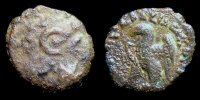 Zypern  15 / Dichalkon   145-116 BC. F-VF...