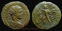 220 AD. Roman Empire Elagabalus, Rome mint, Dupondius, RIC 301. ss-  199,00 EUR  +  7,00 EUR shipping